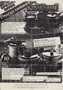 Kitchenware flyer