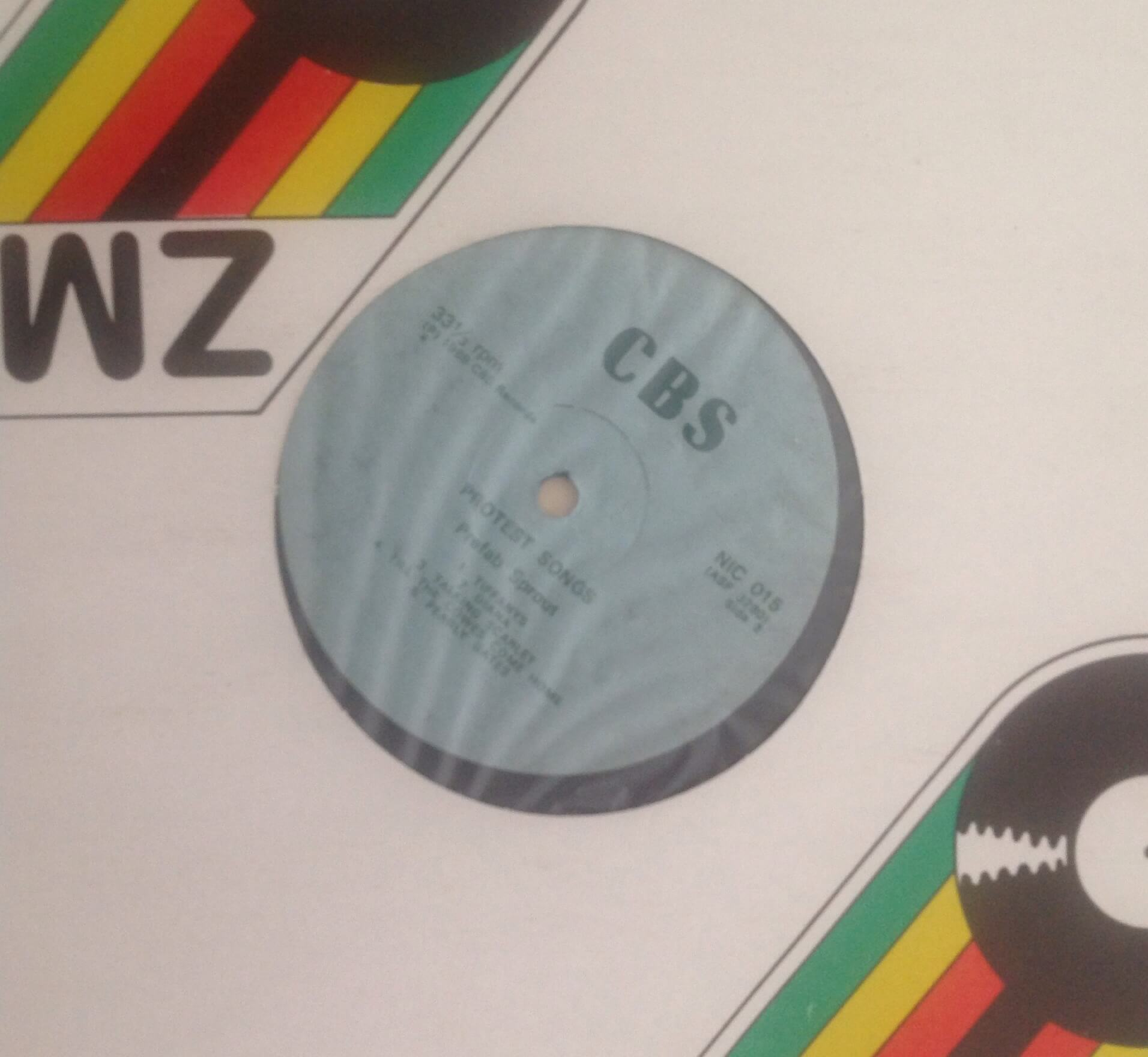 Zimbabwe Test Pressing