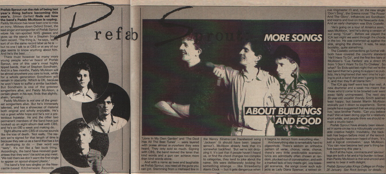 Time Out – January 1984