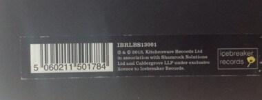 Signed Boxset Label