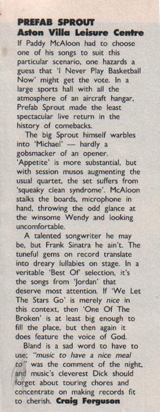 Record Mirror, October 27th 1990