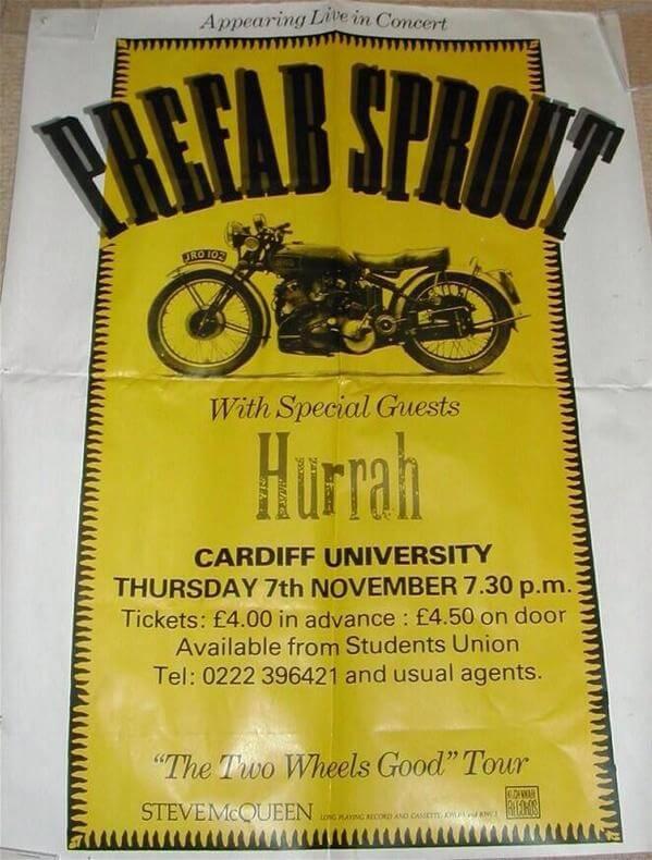 Cardiff University, November 7th 1985