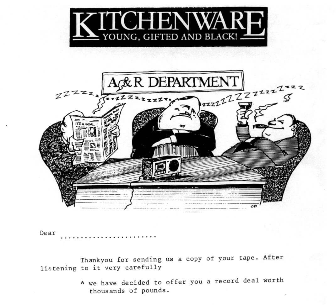 Early Kitchenware Promo Material