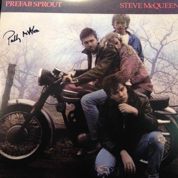 Signed Steve McQueen – Charity Auction