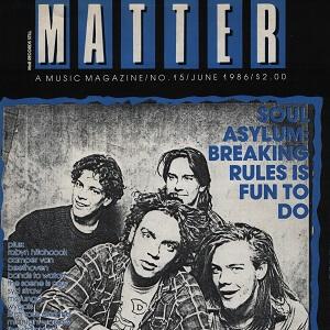 Matter – Will McRobb, June 1986