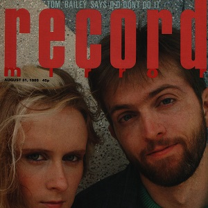 Record Mirror – Jim Reid, August 31st 1985