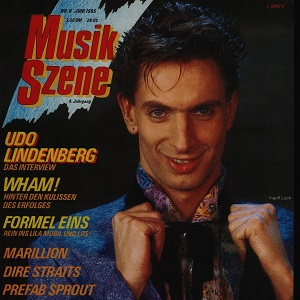 Musik Szene Translation (Germany) – Karin Aderhold, June 1985