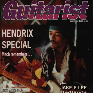 Michael Leonard, Guitarist Magazine – September 1990