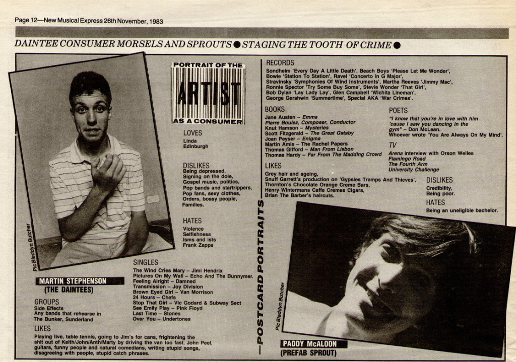 19831126 NME GRAPHIC