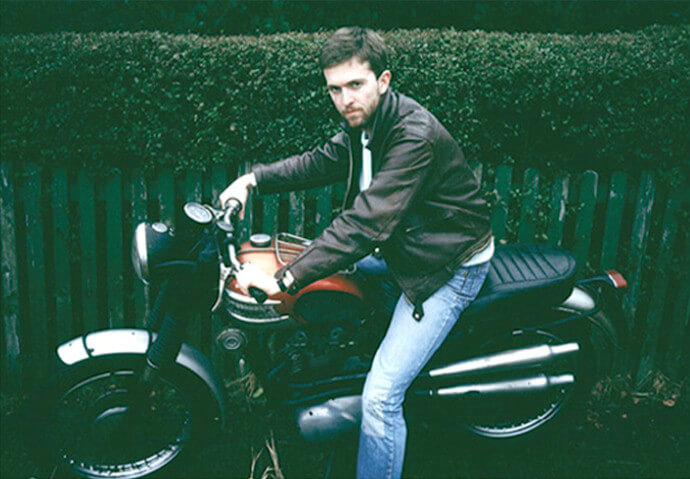 paddy on bike